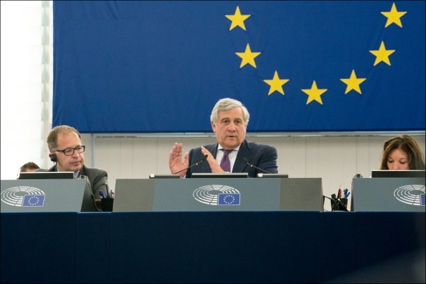 Antonio TAjani 2018 MEPs