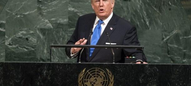Donald Trump UN 2018