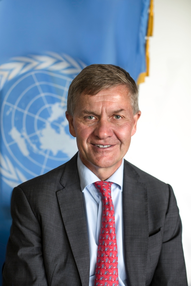 Erik Solheim in Brussels 20-22 June 2018