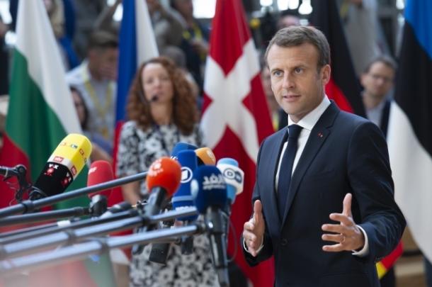 Macron France June 2018