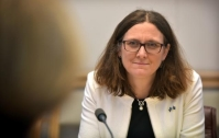 Visit by Cecilia Malmström, Member of the EC in charge of Trade, to Australia. © European Union , 2018 / Source: EC - Audiovisual Service.