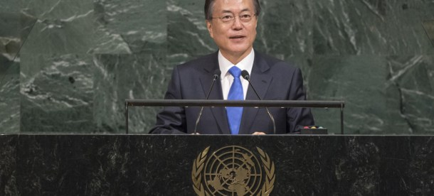 Moon Jae-in Korea United Nations 2017