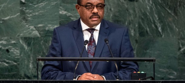 Prime Minister Hailemariam Dessalegn of the Federal Democratic Republic of Ethiopia