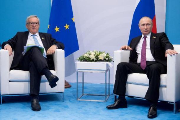 Putin G20 Juncker