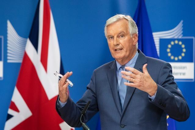 Barnier Withdrawal Brexit UK EU