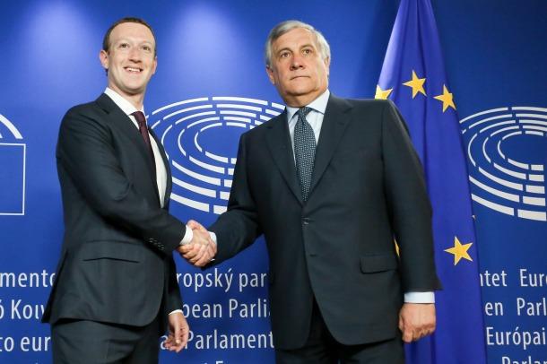 European Parliament Tajani 2018