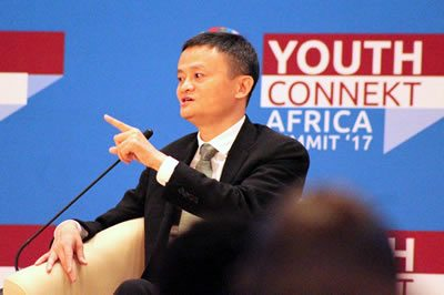 JAck Ma Alibaba 2018