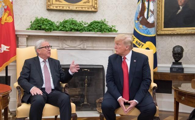 Juncker Trump July 2018