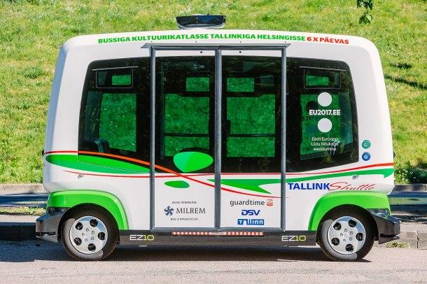 Minibus Self Driving 2018