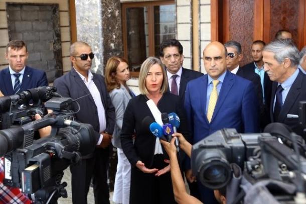 Mogherini Libya 2018