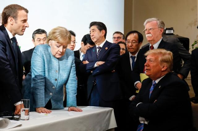 Trump 2018 G7