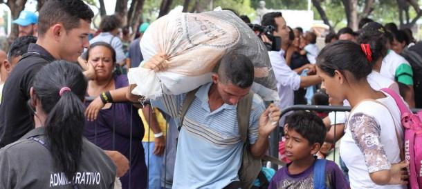Venezuela Refugees Maduro