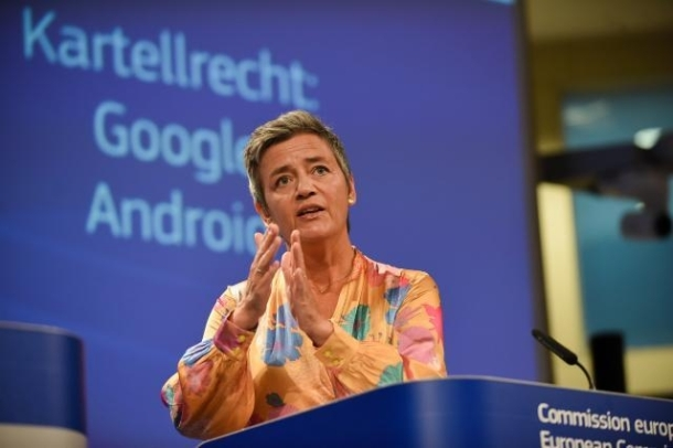 Vestager Google Android 2018