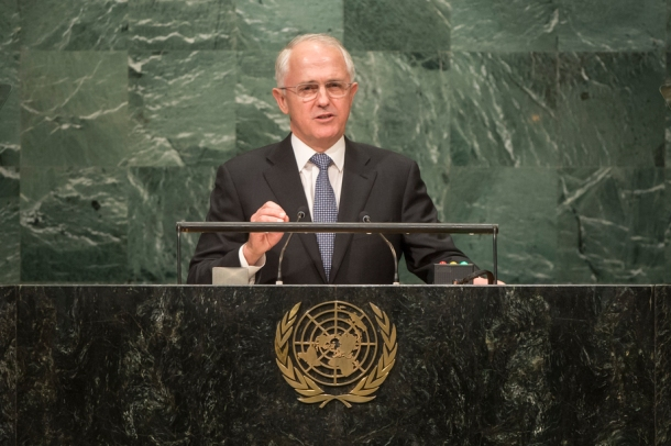 Malcolm Turnbull UN News