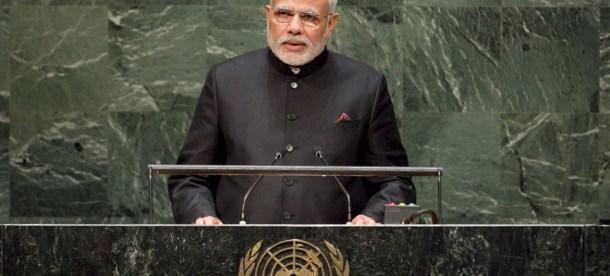 Modi UN News 2018