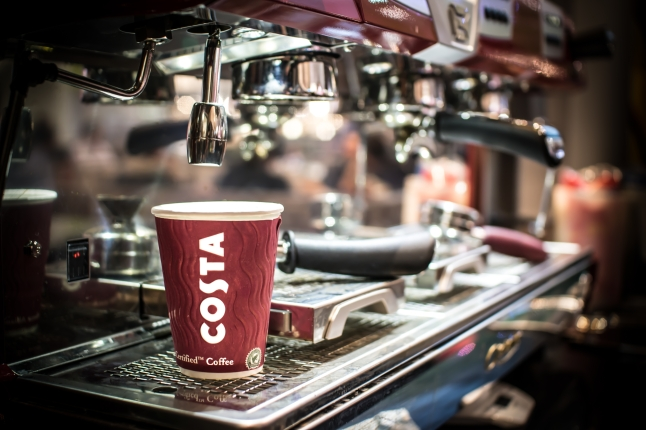 Costa Coffee products (Copyright: Costa Coffee; Source: Costa Coffee website, Press area)