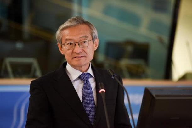 Ambassador Zhang Ming Chinese Mission to EU 2018