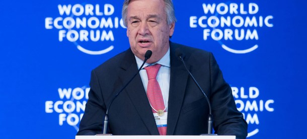 Gutteres Business Davos