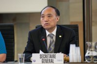 Mr Houlin Zhao, Secretary-General of ITU (ITU/R.Farrell)