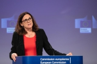 Statement by Cecilia Malmström, Member of the EC in charge of Trade, on the Reform of the World Trade Organization (WTO) and the Global Alliance for Torture-Free Trade. © European Union , 2018 / Photo: Lukasz Kobus