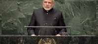 UN Photo/Cia Pak Prime Minister Narendra Modi of India addresses the General Assembly.