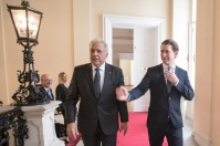 Visit by Dimitris Avramopoulos, Member of the EC, to Austria Date: 14/09/2018. Location: Austria,Vienna. © European Union , 2018 Photo: Alex Halada