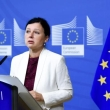 EU commissioner in charge of consumer protection, Věra Jourová, during last week's press conference (Copyright: EC Audiovisual services / Source: European Union , 2018 / Photo: Jennifer Jacquemart)