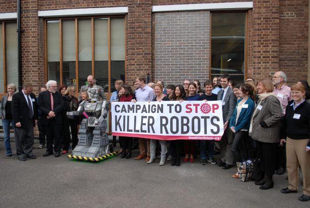 Stop killer robots 2018