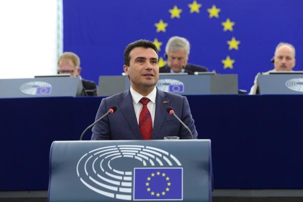 Zaev European Parliament 2018.jpg
