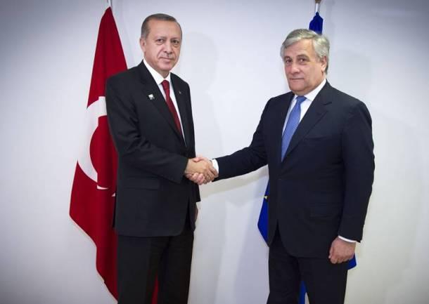 Erdogan Tajani 2018