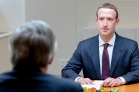 Mark Zuckerberg, Facebook's CEO at the European Parliament in May 2018 (European Parliament, 2018)