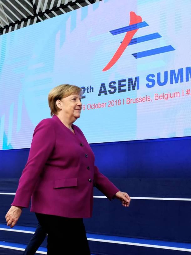 Merkel ASEM 2018