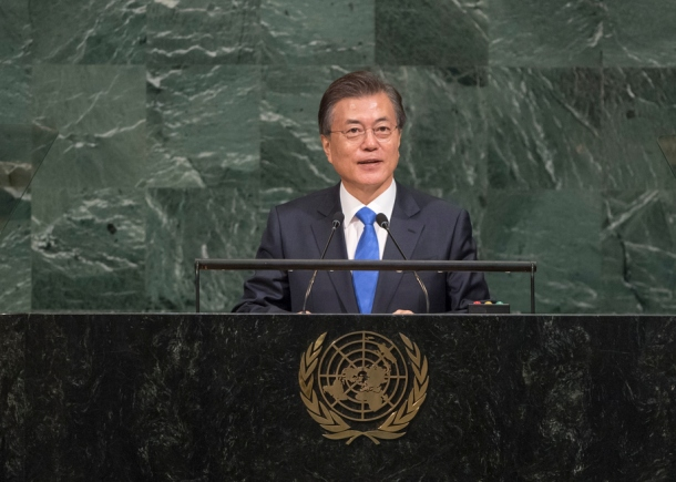 Moon Jae-in 2017