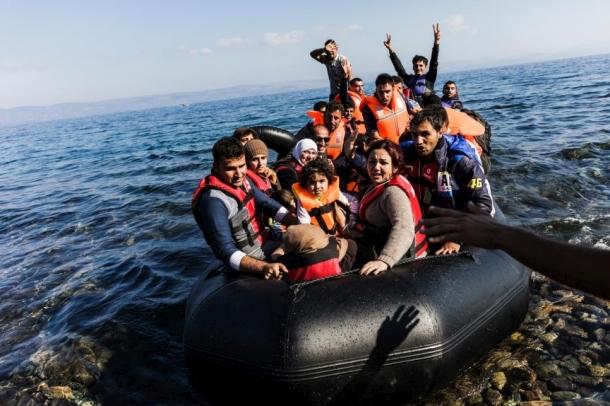Refugee crisis Aegan 2018