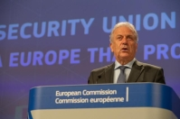 Press conference of Dimitris Avramopoulos, Member of the EC in charge of Migration, Home Affairs and Citizenship, and Julian King, Member of the EC in charge of Security Union.