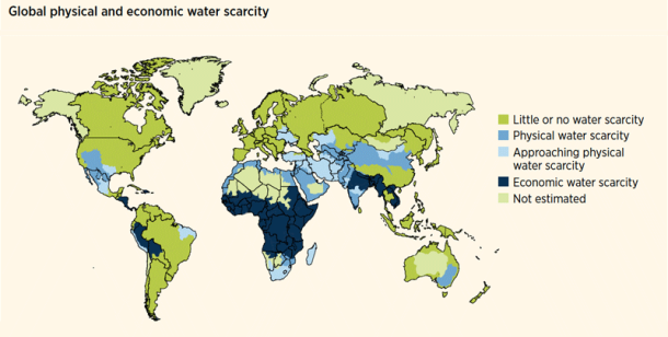 water scarcity 2018