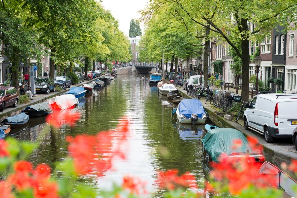 Amsterdam canals 2018