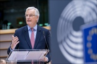 EU chief negotiator Michel Barnier discussed Brexit with MEPs© European Union 2018 - EP
