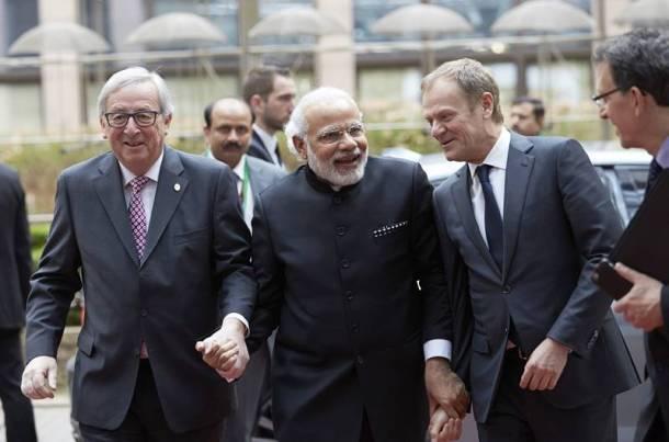 Modi 2018 India EU