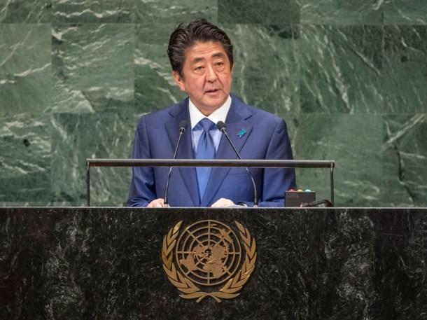 Shinzo Abe 2018