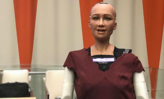 Sophia Robot UN