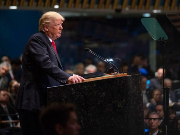 Trump UN 2018