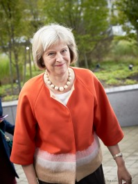 Ms Theresa MAY, UK Prime Minister. Copyright: No commercial use. Credit 'The European Union' Event: Extraordinary Justice and Home Affairs Council - 22 September 2015