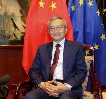 Ambassador Zhang Ming of Chinese Mission to EU