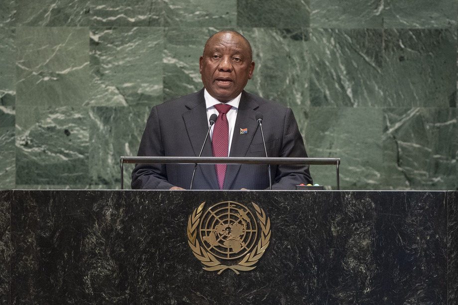 Cyril Ramaphosa 2019