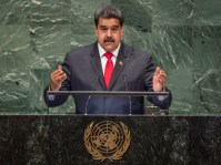UN Photo/Cia Pak President Nicolás Maduro Moros of the Bolivarian Republic of Venezuela addresses the seventy-third session of the United Nations General Assembly.