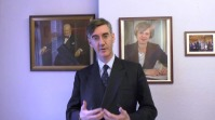 Rees-Mogg's the British backbencher MP for North-East Somerset plans to put down May, take Britain out from the EU without a deal and start a Trump-like regime on the other side of the English Channel