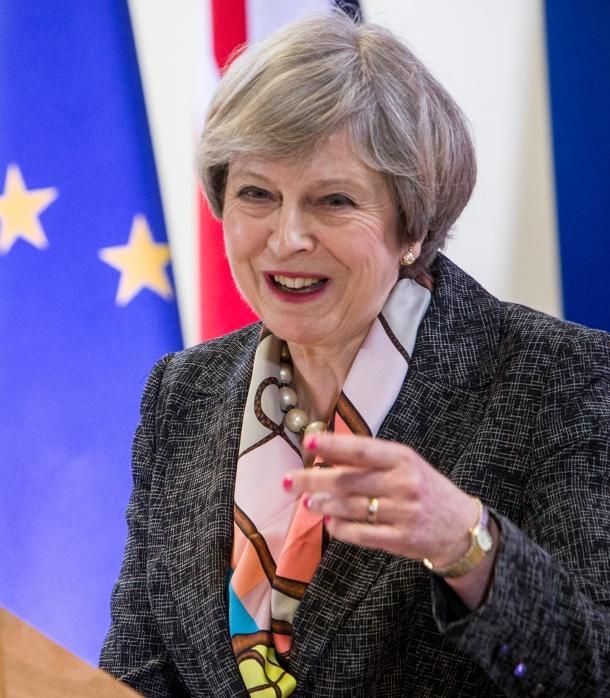Theresa May 2019 Children