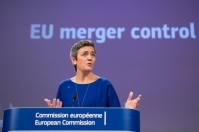 Press conference by Margrethe Vestager, Member of the EC Date: 06/02/2019. Location: Brussels - EC/Berlaymont. © European Union , 2019 Source: EC - Audiovisual Service Photo: Lukasz Kobus