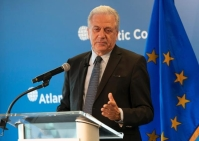 Visit of Dimitris Avramopoulos, Member of the EC in charge of Migration, Home Affairs and Citizenship to Washington DC and New York City.European Union, 2019 Source: EC - Audiovisual Service.
